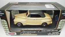 Motormax. American Classics. 1948 Ford Deluxe. Die-cast model scale 1/43
