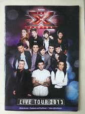 The X Factor Live Tour 2013 Official Programme (James Arthur Ella Henderson)