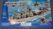 Navy Helicopter Carrier BricTek Building Block Construction Toy Brick Ship 15405