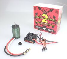 Castle Creations 1/8 Mamba Monster 2 Neu Waterproof ESC w/ 2200KV Motor Combo