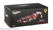 HOT WHEELS ELITE FERRARI F1 F138 CHINA GP 2013 1/43 FERNANDO ALONSO #3 BCK13