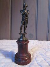 FRENCH ANTIQUE REGULE (SORT of BRONZE) ORNAMENT PAPERWEIGHT NAPOLEON 1st