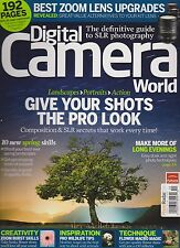 DIGITAL CAMERA WORLD MAGAZINE UK #112 MAY 2012, WITH 2 FREE GIFTS.