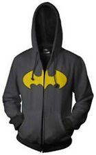 Hoodies Batman Logo Zi-Up Coat Adult's Size Small
