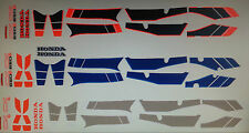 HONDA CX650 CX650E EUROSPORT MODELS  FULL PAINTWORK DECAL KIT