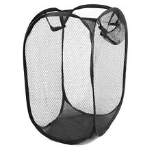 4pc Compact Lightweight Pop Up Easy Open Mesh Laundry Clothes Hamper Basket Home