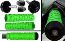 SEADOO BOMBARDIER WATERCRAFT 3D GTI GTS GTX SP XP GREEN GRIPS BLACK BAR ENDS