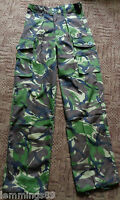 New and Grade 1 British Army S95 Woodland DPM Combat Trousers