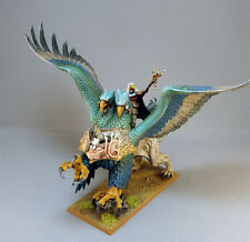 WARHAMMER AGE OF SIGMAR THE EMPIRE WIZARD LORD ON GRIFFON PAINTED