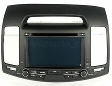 "7"" Touch Screen Stereo Radio Car DVD Player GPS Navigation For Hyundai Elantra"