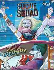 SUICIDE BLONDE 1 HARLEY QUINN MINI GIVEAWAY PROMO SQUAD MOVIE PREQUEL SPLAT