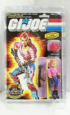 Gi Joe Dreadnok ZARANA 1986 MOC With Earings Hasbro Factory Sealed Action Figure