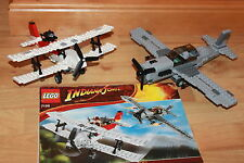 Lego Indiana Jones - Flucht in Flugzeug Set mit Baunaleitungen Set 7198