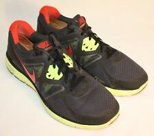 Mens Nike Lunarglide 3 Black Yellow Red Running Training Sneakers Shoes Size 12M
