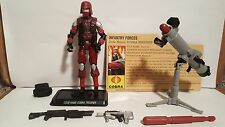 GIJOE 25TH ANNIVERSARY COBRA TROOPER V14 100% COMPLETE W/ FILE CARD LOT 7