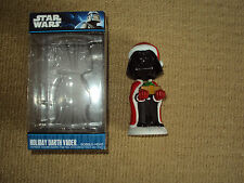 STAR WARS, HOLIDAY DARTH VADER BOBBLEHEAD WITH BOX, EXCELLENT CONDITION
