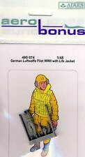 Aires - German Luftwaffe Pilot WWII with Life Jacket Modell-Bausatz 1:48 NEU OVP