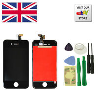 Replacement Touch Screen LCD Digitizer Assembly For iPhone 4S Black+Tools