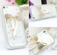 Glitter Luxury Crystal Bling Rhinestone Diamonds hard back Phone Case Cover #6