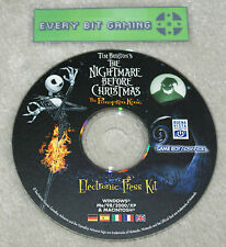 Le cauchemar avant noël le pumpkin king-press kit Nintendo GBA rare