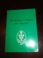 Der Weinbau in Meißen und Umgebung,50Jahre Winzergenossenschaft,1988,Bild.s.Text