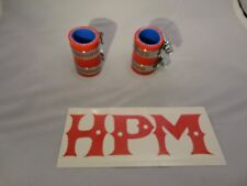 "HPM 5 Ply "" RED "" BANSHEE 1"" Exhaust Couplers"