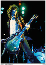 A2 Poster LED ZEPPELIN - Jimmy Page Los Angeles 1972 ca42x60cm SP506