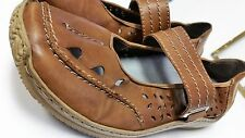 """Ladies Rieker Comfort Brown Leather Shoes Size 41/10 Anti-Stress-""""BEAUTIFUL"""""""