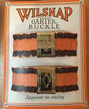 Vintage Antique 1940s  Wilsnap Garter Buckles to hold up your  stockings USA
