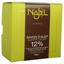 Najel Collection Aleppo Soap Laurel Oil 12% 200g