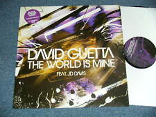 "DAVID GUETTA feat.JD DAVIS US AMERICA 2004 12"" THE WORLD IS MINE ship from Japan"