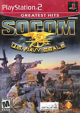 Socom (Without Headset) PS2 New Playstation 2