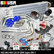 T3/T4 Internal Turbo Kits for99-05 VW Beetle GL Hatchback 2D 2.0L 1984CC I4SOHC