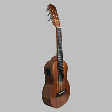 "Caramel CB202G 6 String 28"" Mirror Polished Acacia Acoustic Electric Guitalele"