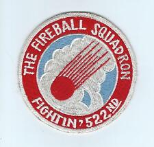 60s 522nd TAC FIGHTER SQUADRON(ACE NOVELTY)  patch