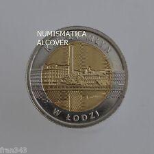 POLAND POLONIA 5 zlotych 2016 Ksiezy Mlyn en Lodz  BIMETALLIC - UNC