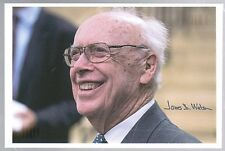 JAMES D. WATSON SIGNED AUTOGRAPHED PHOTO DNA FOUNDER NOBEL PRIZE WINNER SCIENCE