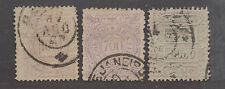 **Brazil, SC# 96-98 Used, Fine Complete Set, Small Thin on #98, CV $221.90