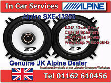 "Alpine SXE-1325S 5.25""(13cm DIN) Custom Fit Coaxial 2-Way Car Speakers 200W PAIR"