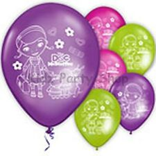 Doc McStuffins Party - 6 Latex Balloons - Free Postage UK