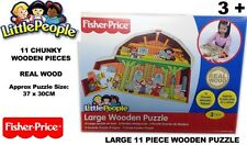 Fisher Price Little People Shaped 11 Piece Jigsaw Puzzle Brand New Gift