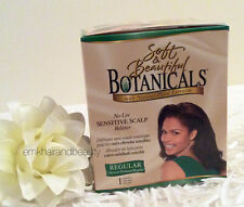 Soft and Beautiful Botanicals No-Lye Sensitive Scalp Hair Relaxer Regular