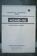 Galanti Group Organ Wizard - 110 Schematic Diagrams