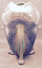 Art Nouveau Heliosine iridescent Character vase.