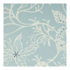 """Clarke and Clarke Coral Cloud Fabric 137cm/54"""" wide"""