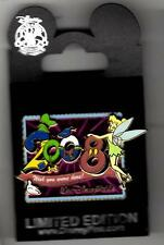 Disney Auction Pin Tinker Bell 2008 Wish You Were Here Postcard 3d Pin Le 500