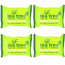 100 Australian Tea Tree & Peppermint Cleansing Facial Face Make Up Removal Wipes