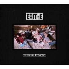 WINNER-Mini Album [EXIT:E] A VER CD+68p PHOTO BOOK+Badge+Film+Polaroid