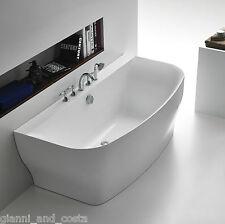 Bathroom Acrylic Free Standing Bath Tub 1650x780x600 FREESTANDING BACK TO WALL