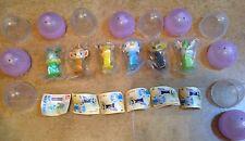 Lot of 6 Complete Set Bandai Pokemon 6 mini PEZ Dispenser